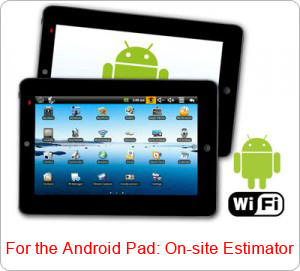 Android pad Moving Estimator